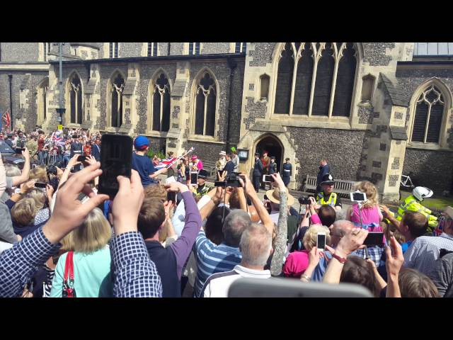 Queen in Berkhamsted May 2016