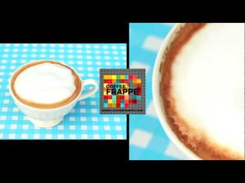 CoffeeFrappe How to make Hot Cappuccino