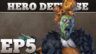 Gambar cover Let's Play Hero Defense - Haunted Island Ep. 5 - Negark Loses - PC Gameplay