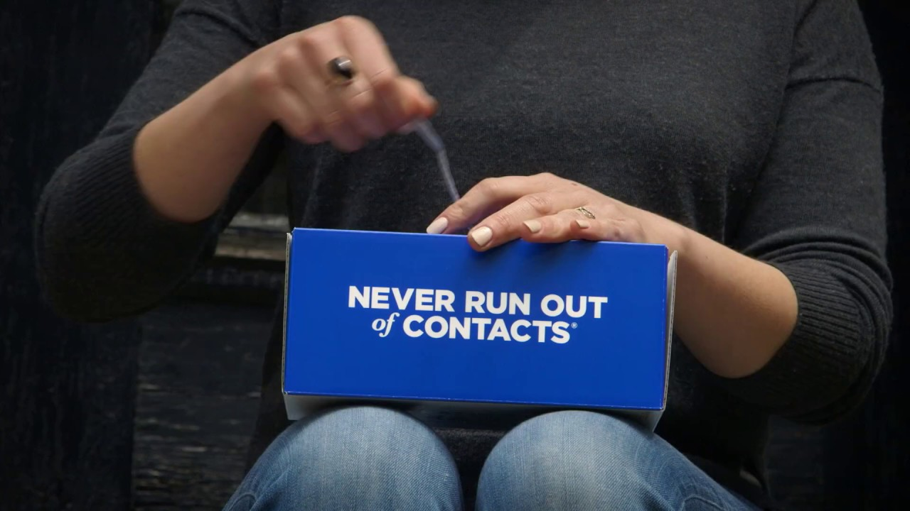 1 800 Contacts Online Prescription Youtube