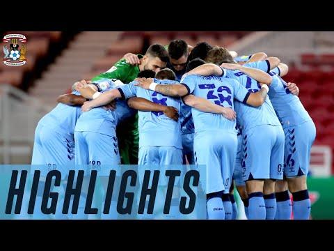 Middlesbrough v Coventry City highlights