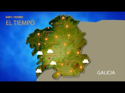 Diciembre llega a Ourense con un nuevo anticiclón