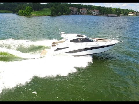 Sporty 2018 Galeon 405 HTS For Sale At MarineMax Lake Of The Ozarks, Missouri