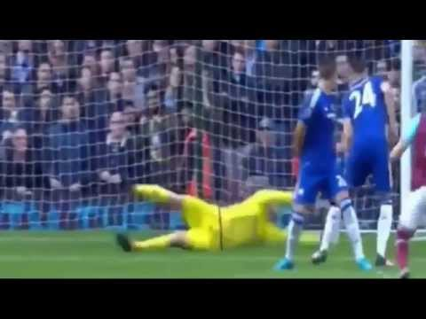 Mauro Zarate  Goal - West Ham vs Chelsea 1-0 HD 24/10/2015