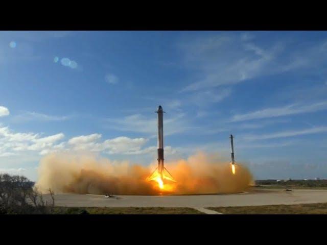 פאלקון - הטיל של אלון מאסק חוזר לארץ