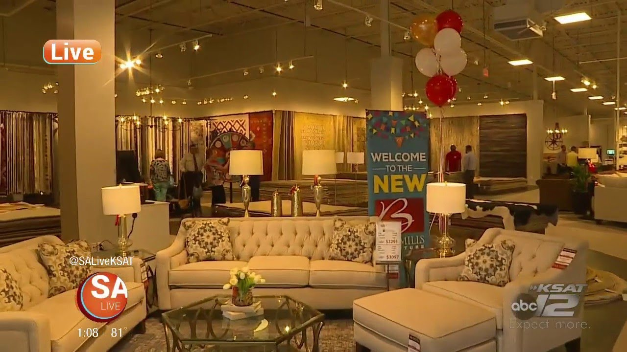 Grand Opening Of The New Bob Mills Furniture Store Sa Live Ksat