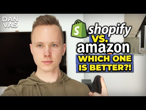 Should I Start Shopify Dropshipping Or Amazon FBA?! (The BEST Online Business Revealed) thumbnail