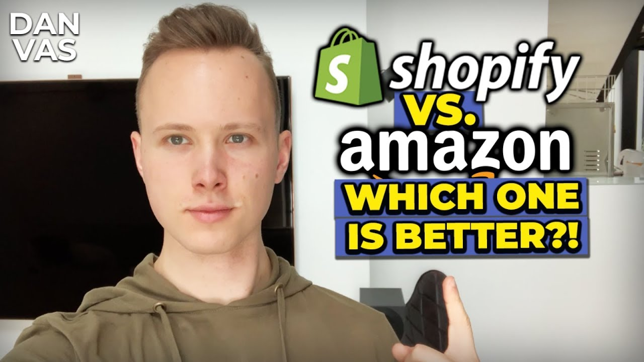 Should I Start Shopify Dropshipping Or Amazon FBA?! (The BEST Online Business Revealed)