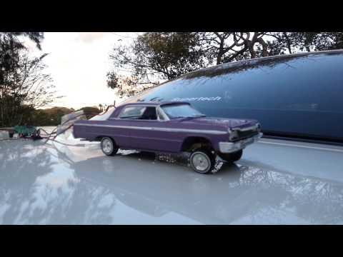 R/C Test on LAVitate (1964 Chevy Impala SS Lowrider Model Car)