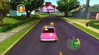 The Simpsons Hit and Run Gameplay  — Played on XBox 360 {60 FPS}