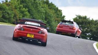 K20 EG vs K24 S2000 Track Battle