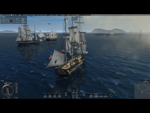 Naval Action: The Long Guns of the Constitution (USS Constitution gameplay)