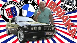 BMW E34| ALPINA| Test and Review| Bri4ka.com