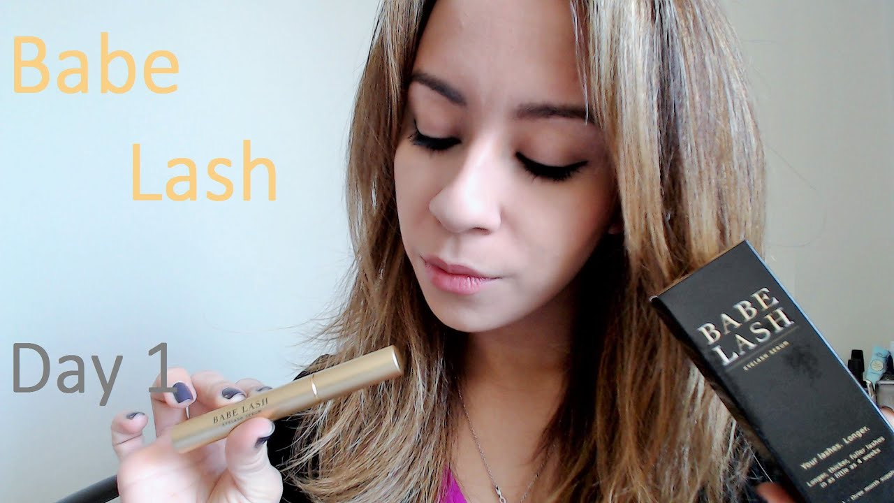 Babe Lash Eyelash Serum Day 1 32215 Youtube