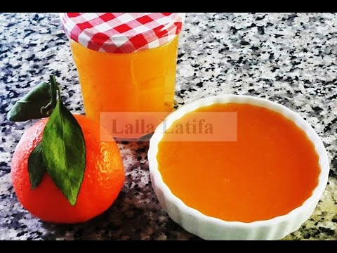 Confiture à la mandarine مربى الماندرين