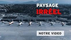 Genève Aéroport désert : le tarmac est suspendu dans le temps