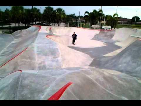 skating at edge skatepark , naples fl by Jorgitocalderin