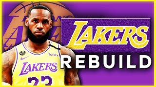 Lakers OFFSEASON Plan with TRADES & FREE AGENCY! Anthony Davis Extension! LeBron James NEW Teammate!