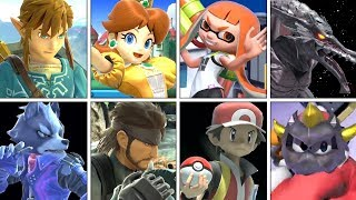 Super Smash Bros. Ultimate - All 68 Characters Gameplay (+ Final Smashes)