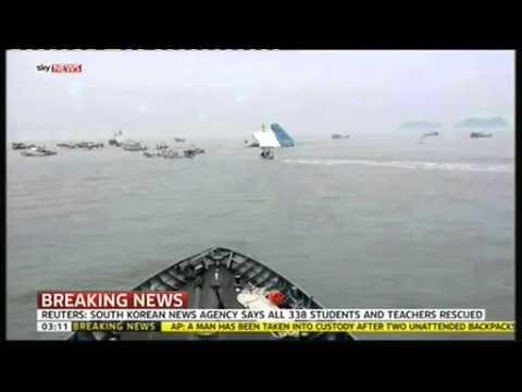 Video cứu hộ con tàu đắm
