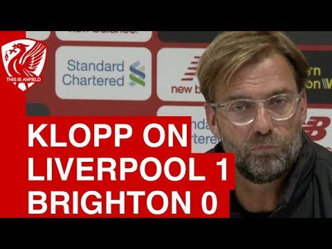 Liverpool 1-0 Brighton | Jurgen Klopp Post-Match Press Conference