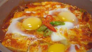 진짜 맛있는 조합 I 계란두부조림 I spicy bra…