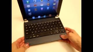 minisuit ipad mini chrome wireless bluetooth keyboard review