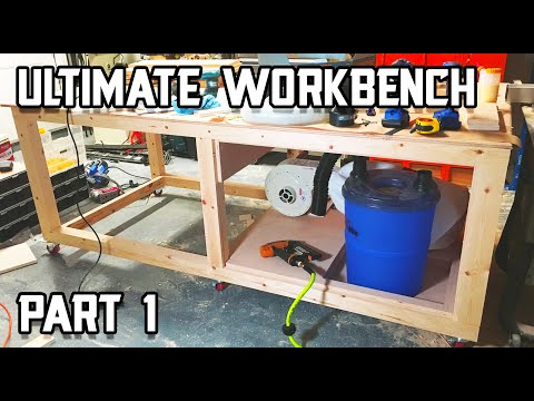 Ultimate Shop Table Build - Part 1