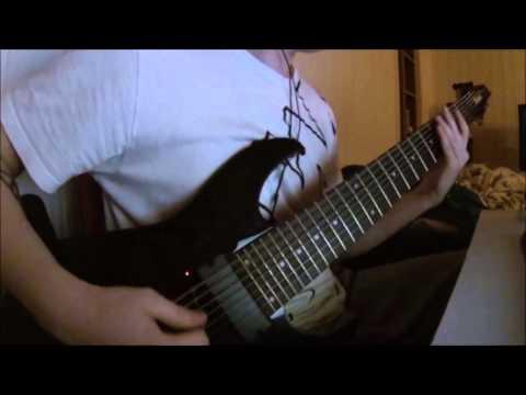 Vildhjarta - Benblåst Guitar Cover [RG8]
