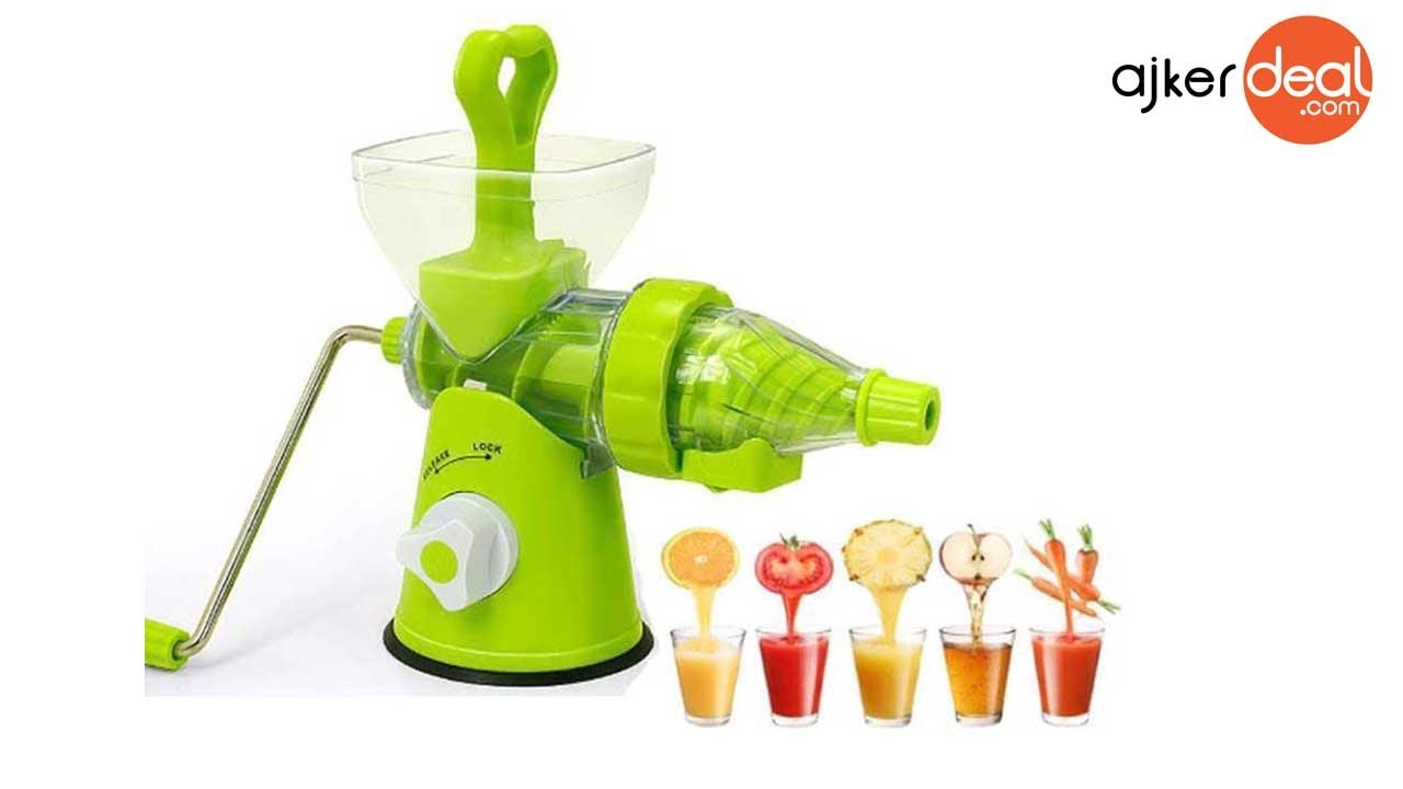 Manual juicer. Useful device for home 55