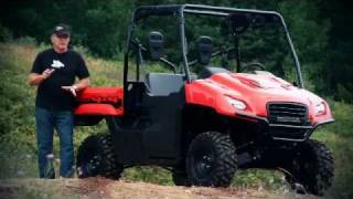 2011 Honda Big Red SXS Test Ride