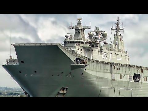 HMAS Canberra • Australian Light Aircraft Carrier