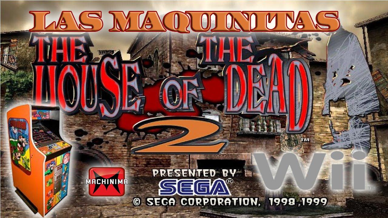 The House Of The Dead 2 Juegos Retro Las Maquinitas Wii Youtube