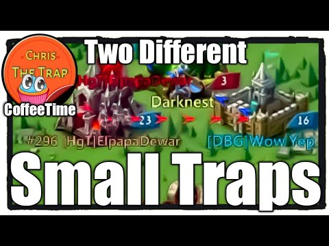 Mini Baby 63 - Solo Traps KvK - Lords Mobile
