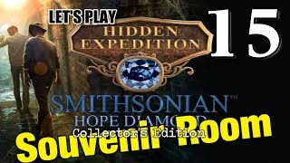 Hidden Expedition 6: Smithsonian Hope Diamond CE [15] w/YourGibs - BONUS - SOUVENIR ROOM