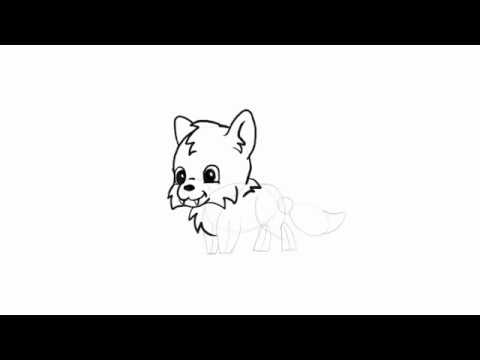 How to draw simple cute animals in chibi style wolf youtube how to draw simple cute animals in chibi style wolf ccuart Choice Image