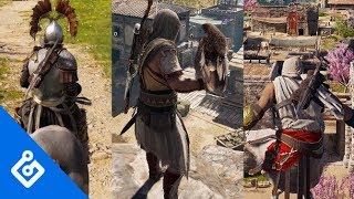 New Gameplay Of Assassin's Creed Odyssey's Three Distinct Playstyles
