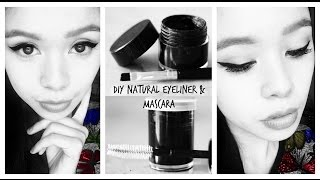 DIY Natural Eyeliner and Mascara With Lash Growth Benefits-Beautyklove
