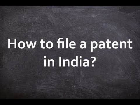 Patent Law in India, Patent Filing in India, Patent Registration in India, Indian Patent Law