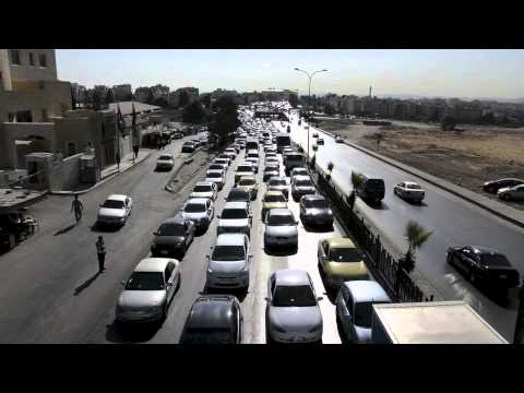 Traffic Jams in Amman