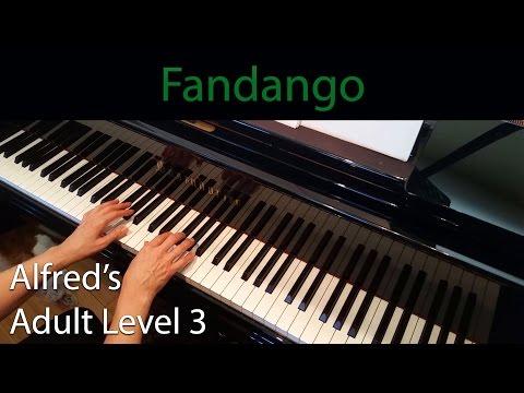 Fandango (Intermediate Piano Solo) Alfred's Adult Level 3
