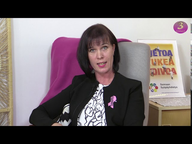 Yhdistysesittelyssä: Saimaan syöpäyhdistys ry