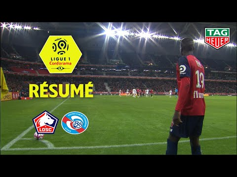 LOSC - RC Strasbourg Alsace ( 0-0 ) - Résumé - (LOSC - RCSA) / 2018-19
