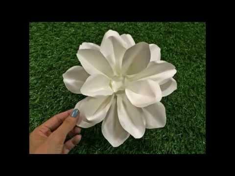 วิธีทำดอกไม้กระดาษ - มะลิ