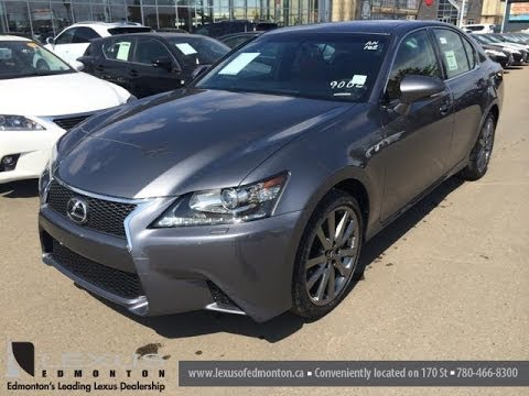 2014 lexus gs 350 awd f sport package review executive demo fort mcmurray ab youtube. Black Bedroom Furniture Sets. Home Design Ideas