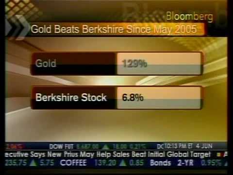 Buffett Rebuffs Gold - Bloomberg