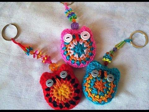 Crochet porte cl s hibou youtube - Tuto pour creer un sac en crochet ...