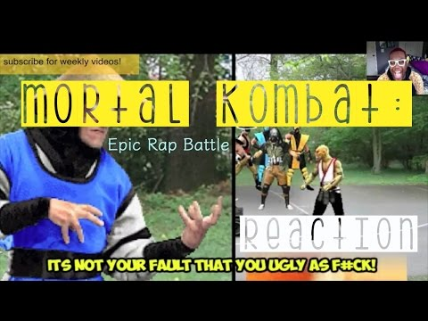 MORTAL KOMBAT: EPIC RAP BATTLE! | REACTION