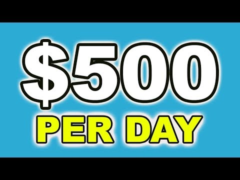 How To Earn $500 A Day Online Passively. Passive + Residual Income Stream For 2020!