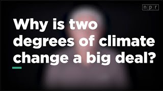 Why is 2 Degrees of Climate Change a Big Deal? | Let's Talk | NPR